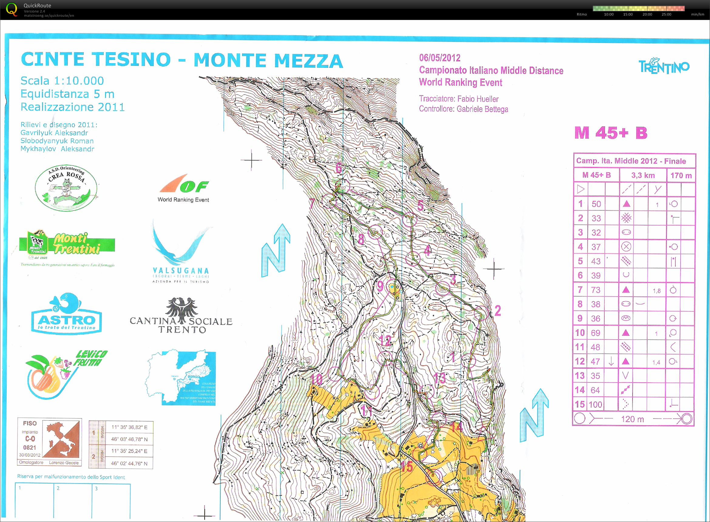 Campionato Italiano Middle Distance M45 B (2012-05-06)